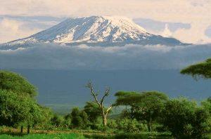 kilimanjaro volkanik dağı nerede