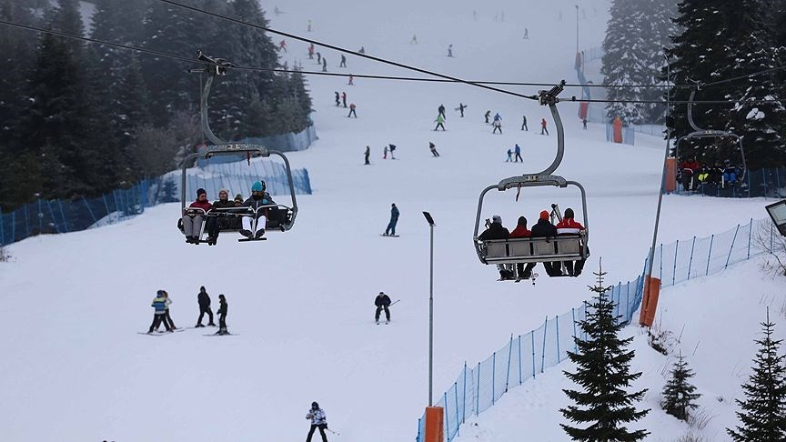 türkiye'de kışın gezilecek yerler ılgaz kayak