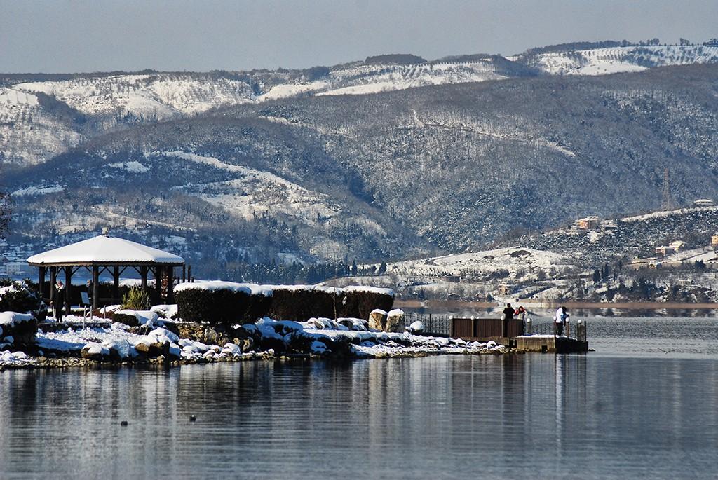 türkiye'de kışın gezilecek yerler sapanca gölü