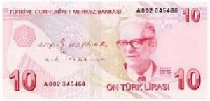 10 Türk lirası 300x145 Cahit Arf Kimdir Hayatı Belgesel Matematik