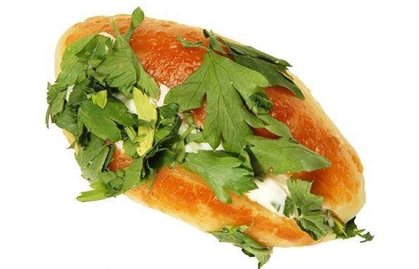 maydanozlu sandviç