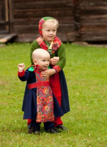 İsveç'in Geleneksel Kıyafetleri 5