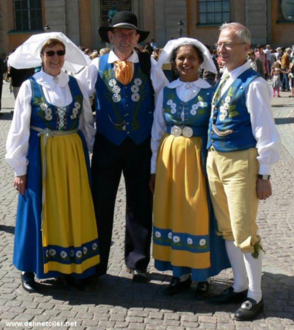 İsveç'in Geleneksel Kıyafetleri 1