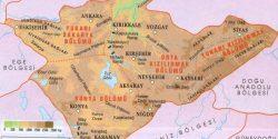 Konya'nın fiziki ve coğrafi özellikleri hakkında bilgi