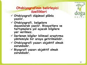 Otobiyografi Nedir özellikleri Ve Otobiyografi örnekleri Kısa