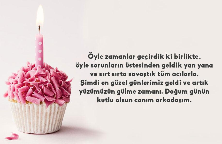 Arkadaşa samimi doğum günü mesajları | En içten doğum günü mesajları
