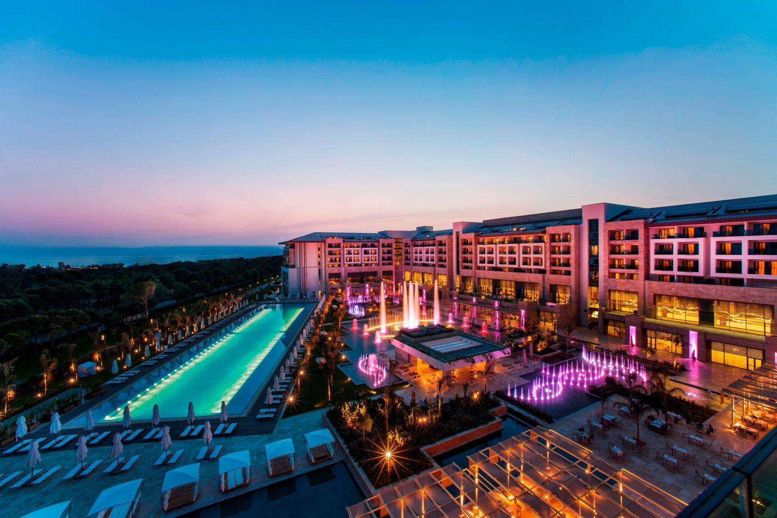 antalya belek en iyi oteller regnum carya resort hotel