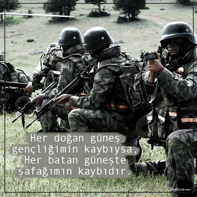 askerlik sözleri