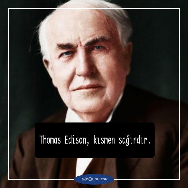 Thomas Edison Hakkında