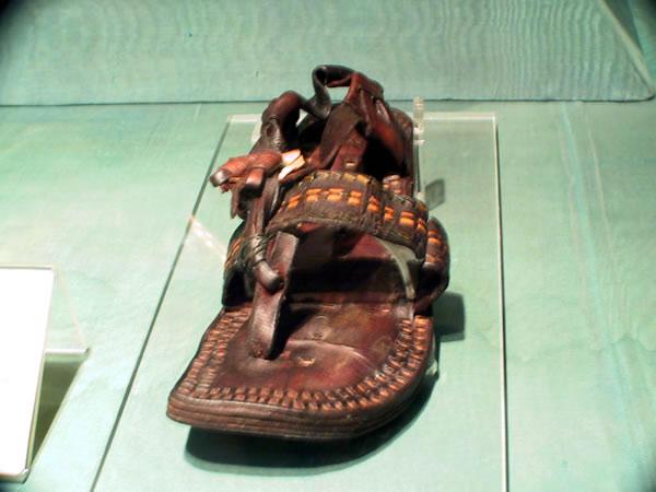 hz muhammed'in sandaleti