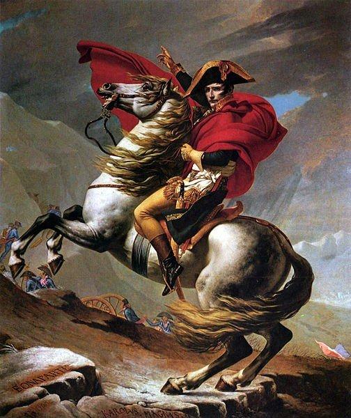 Saint-Bernard Geçidi'nde Napoleon