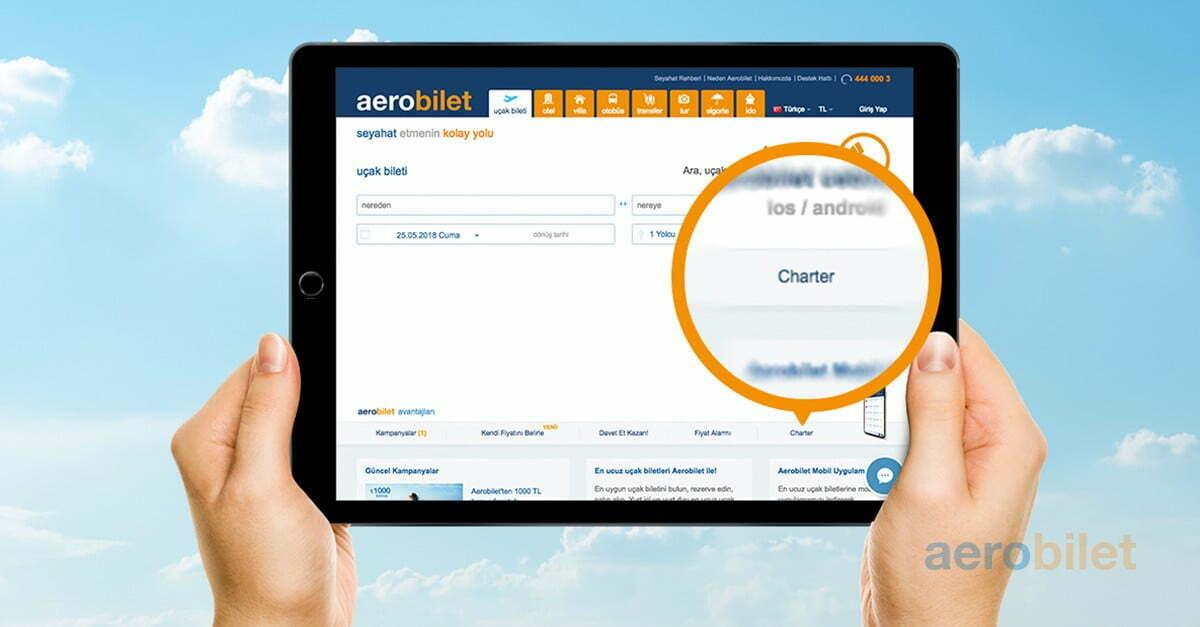 Charter Uçak Bileti Nasıl Alınır?
