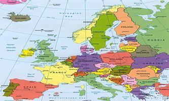 Avrupa ülkeleri harita
