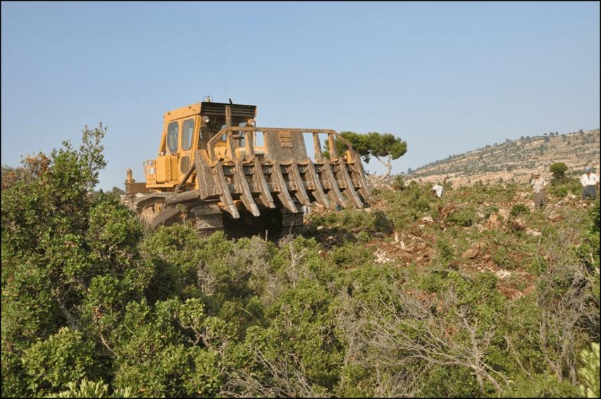 Makine Gücü İle Arazi Hazırlığı ve Ağaçlandırma