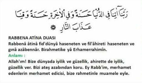 rabbena duaları