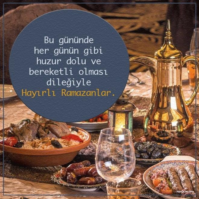 iftar mesajları