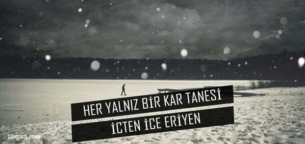 Kar Sözleri, Kar Tanesi Sözleri, 2018 Resimli Kar Yağışı Mesajları