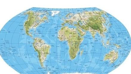 Fiziki ve siyasi harita nedir