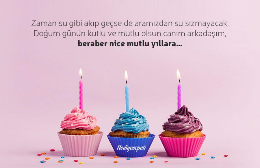 Yakın arkadaşa doğum günü mesajları