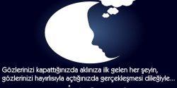 En Etkileyici İyi Geceler Mesajı Sevgiliye, En Güzel İyi Geceler Sözleri
