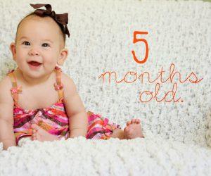 5 aylık bebek için ek gıda tablosu