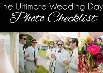 Ultimate Wedding Day Photo Checklist