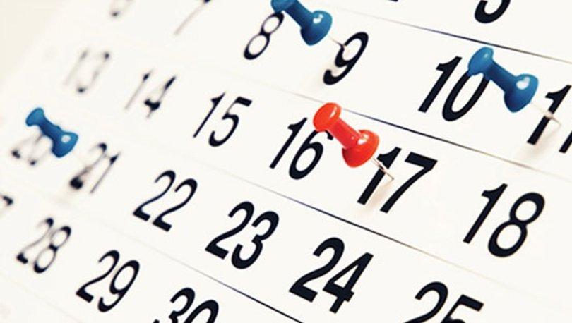 yili resmi tatil gunleri dini resmi bayram tatilleri