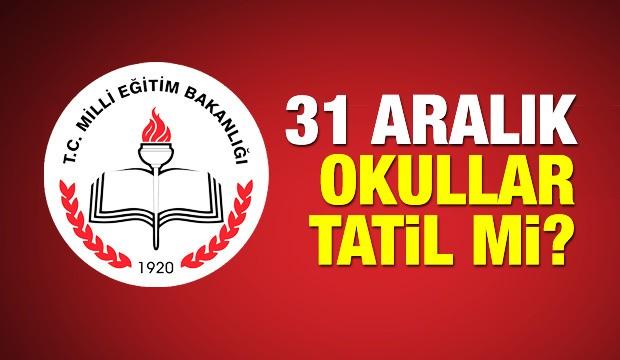 aralik pazartesi gunu okullar var mi meb yilbasi tatili kac gun haber